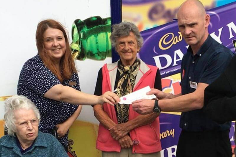 McColls donate to Residents Fund at Keate House